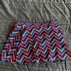 Dresses & Skirts - colorful skirt with built in shorts